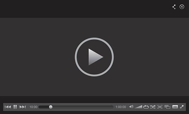 web-spieler - film stock-grafiken, -clipart, -cartoons und -symbole