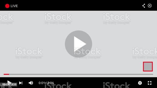 Site Web Player Vecteur Vecteurs libres de droits et plus d'images vectorielles de Application mobile