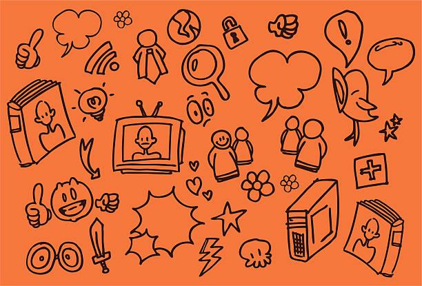 web-skizzen - extravagant schutzbrille stock-grafiken, -clipart, -cartoons und -symbole