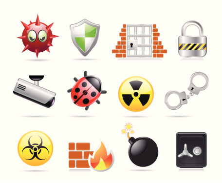 Web Security Icons