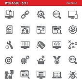 Web & SEO Icons - Set 1