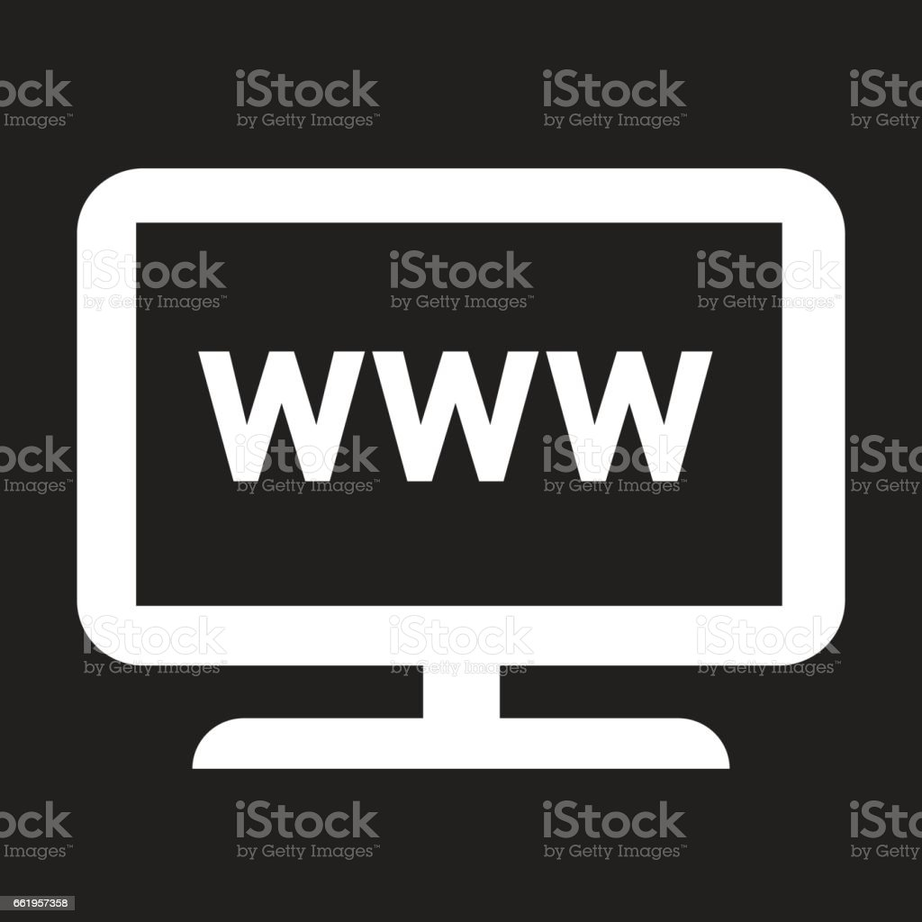 Web TV icon royalty-free web tv icon stock vector art & more images of business