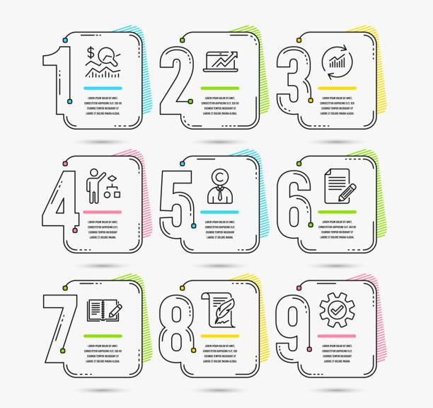 web - lesestrategien stock-grafiken, -clipart, -cartoons und -symbole