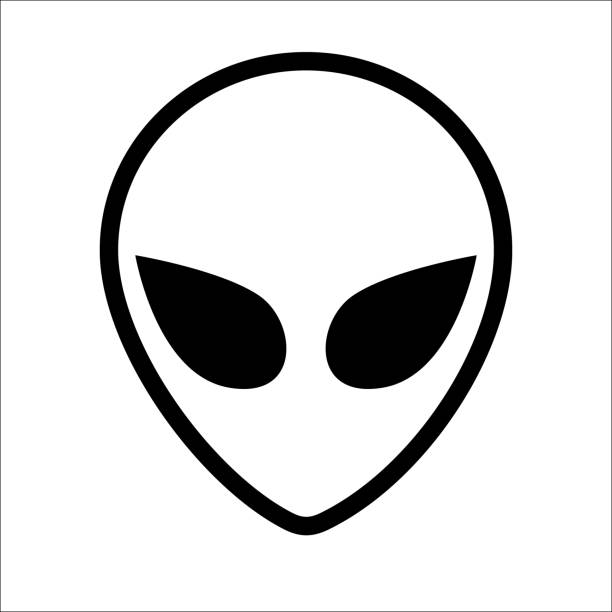 stockillustraties, clipart, cartoons en iconen met web - buitenaards wezen
