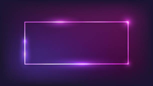sieci web - neon stock illustrations