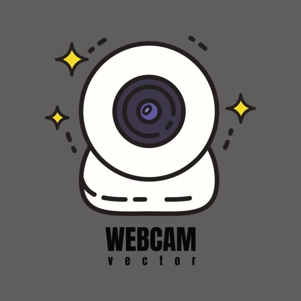 webcam-Symbol – Vektorgrafik