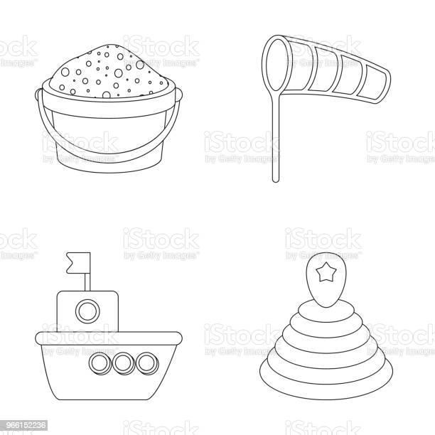 Webchildren Leksak Disposition Ikoner I Set Insamling För Design Spelet Och Småsak Vektor Symbol Lager Web Illustration-vektorgrafik och fler bilder på Barndom