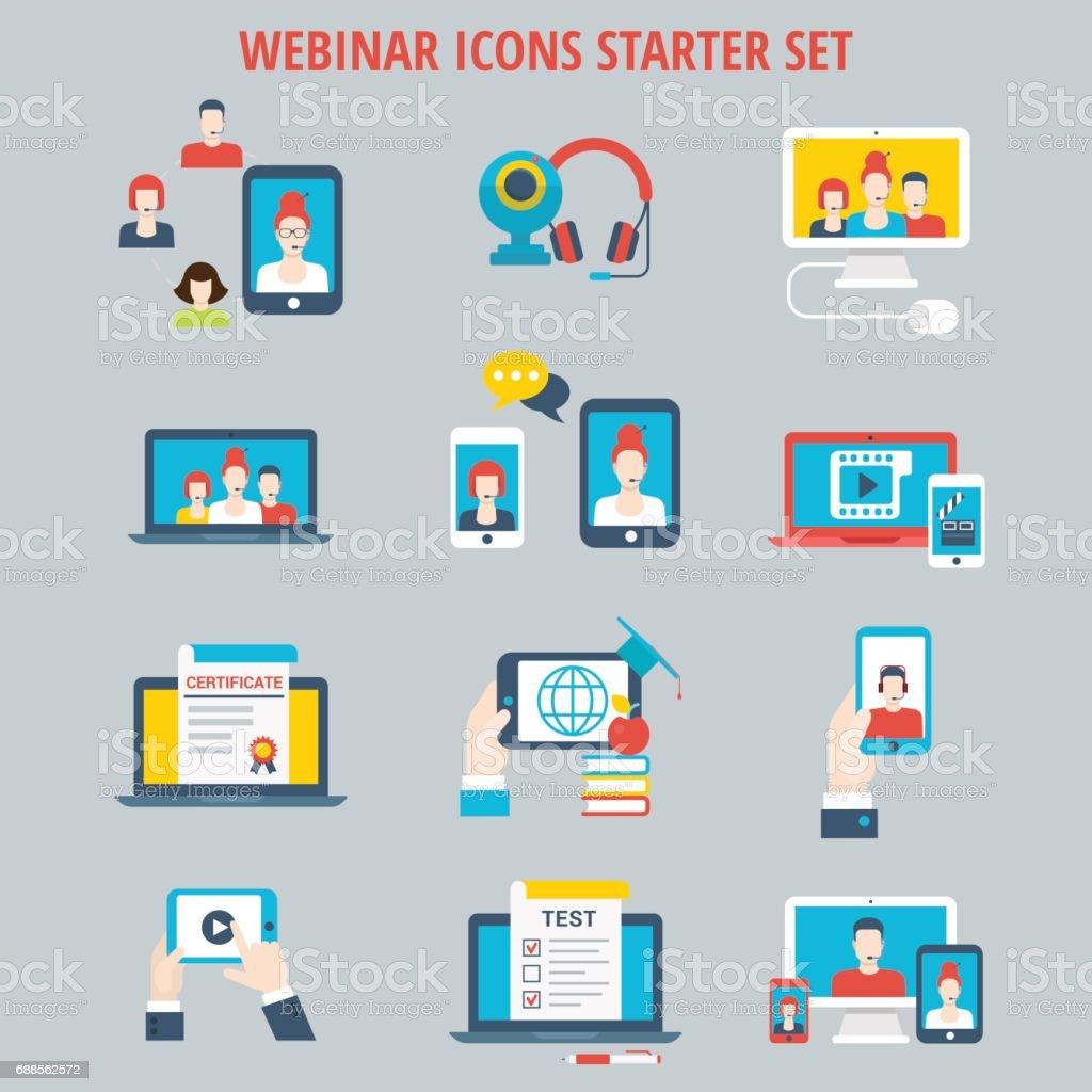 Webinar Online Web Course Education Video Connection Interactive