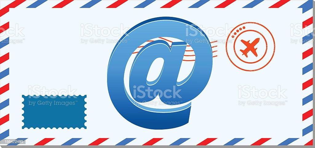 Webmail royalty-free stock vector art