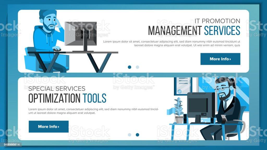 Website Banners Design Template Vector. Business Concept. Web Design...