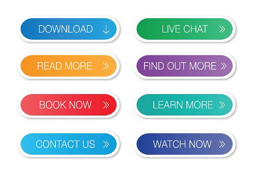 Website button set