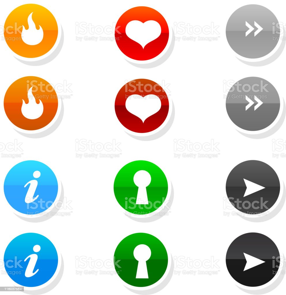 website buttons with rollovers royalty-free website buttons with rollovers stock vector art & more images of advice