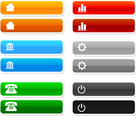 website buttons with rollovers