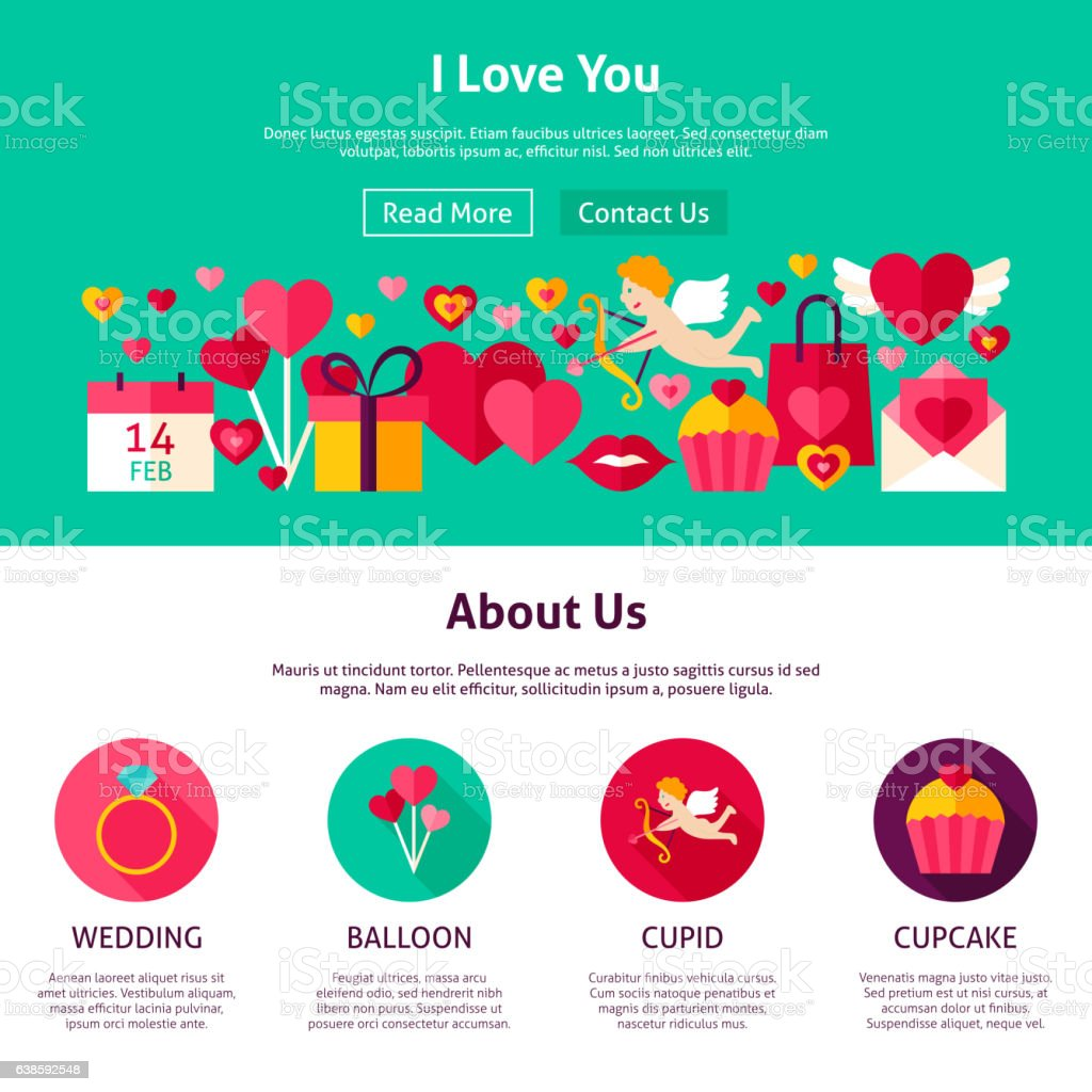Love website design