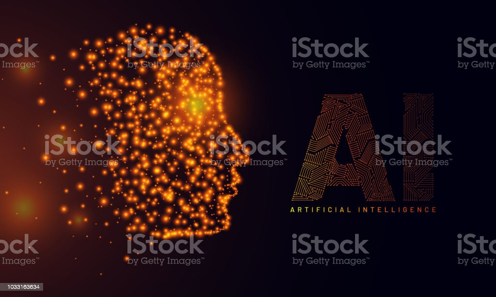 Website Hero Banner Design Illustration Of Human Face Made
