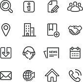 Website Icons - Line Series