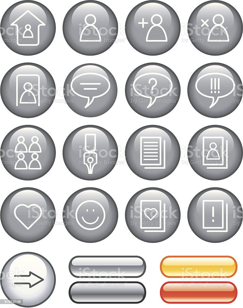 Website Icons Set royalty-free website icons set stock vector art & more images of adult
