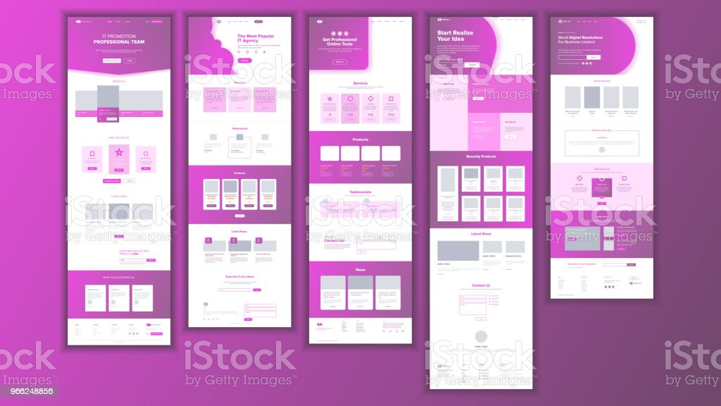 Website Page Vector. Business Website. Web Page. Landing Design Template. Achieve The Goal. Group Meeting. Product Testimonial. Donation. Illustration