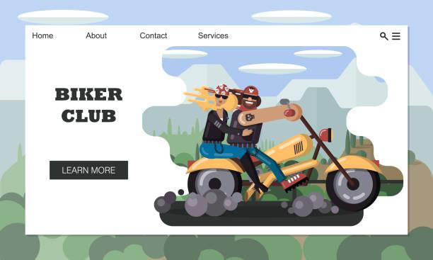 23 Dirt Bike Couple Illustrations, Royalty-Free Vector Graphics & Clip Art  - iStock