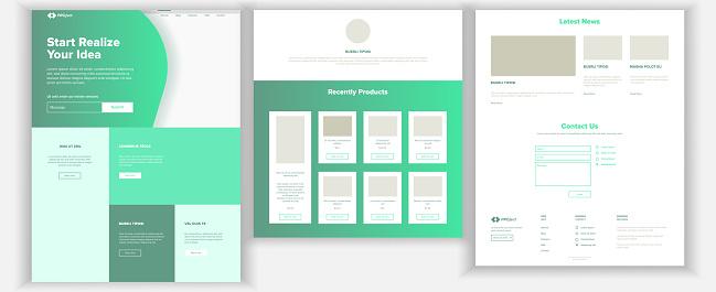 Web Sitesi Şablonu Vektör Sayfa Iş Geçmişi Açılış Web Sayfası Web Tasarım Ve Geliştirme Nakit Sözleşme İş Başarı Para Planlama İllüstrasyon Stok Vektör Sanatı & Arama Motoru'nin Daha Fazla Görseli