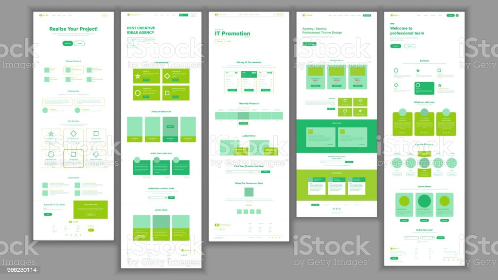 Website template vector page business interface landing web page website template vector page business interface landing web page responsive ux design accmission Image collections
