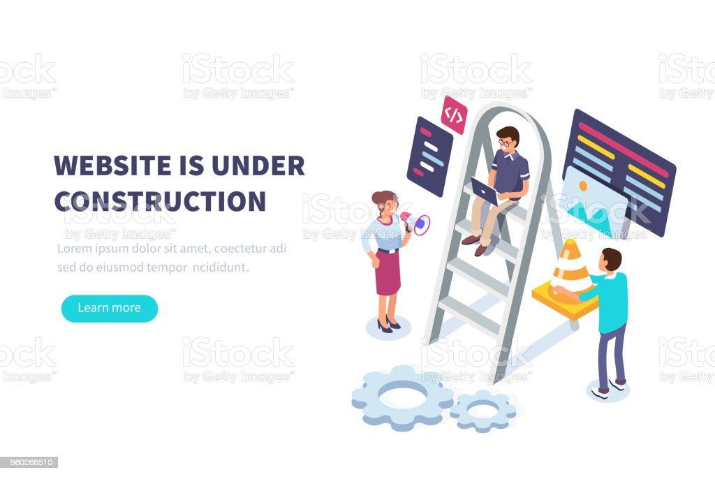- website – Vektorgrafik