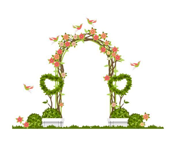 Wedding Altar Cartoon: Top 60 Wedding Arch Clip Art, Vector Graphics And