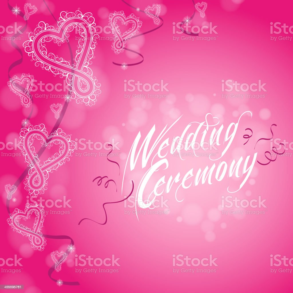 Wedding Background royalty-free stock vector art