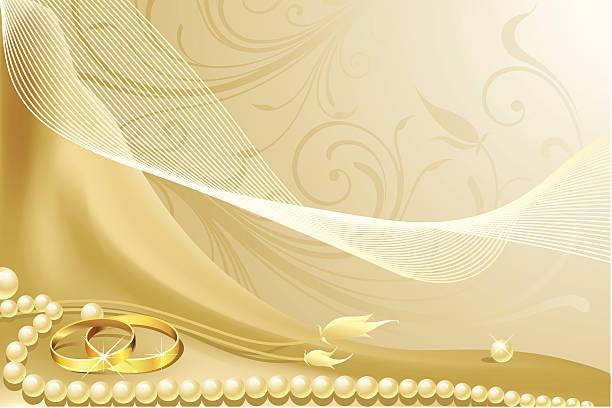 hochzeit hintergrund - clipart goldene hochzeit stock-grafiken, -clipart, -cartoons und -symbole