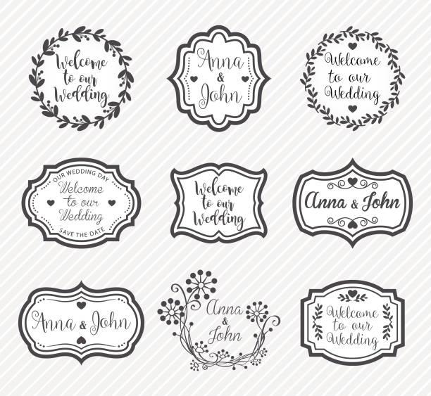 Lustige Spruche Hochzeit Vektorgrafiken Und Illustrationen Istock