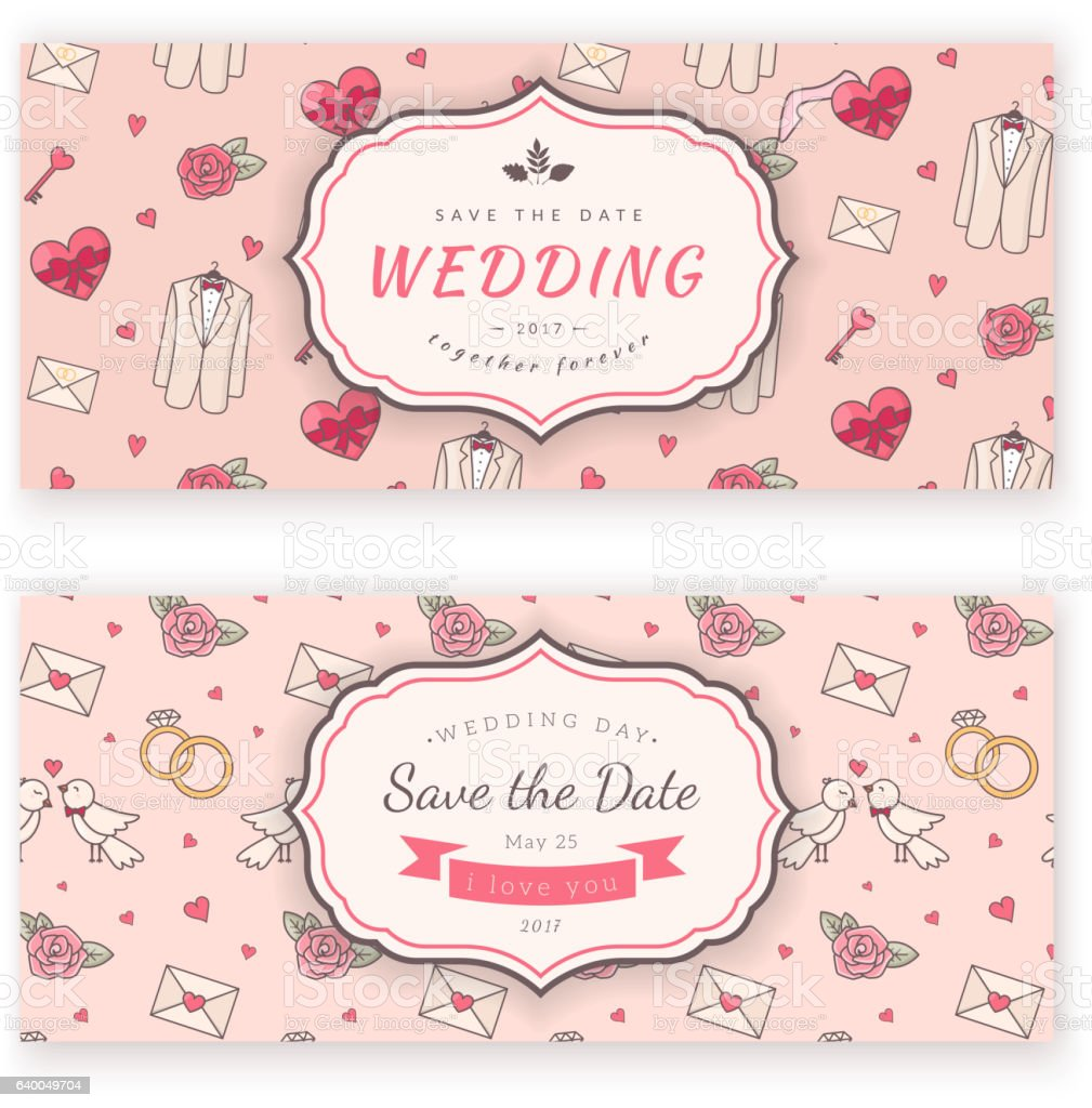 wedding banner template stock illustration download image now istock 2