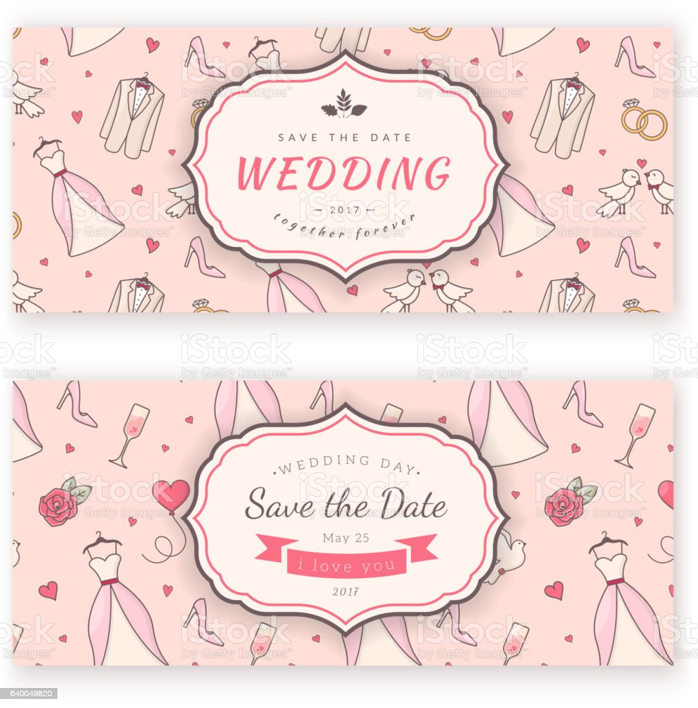 wedding banner template stock vector art more images of backdrop