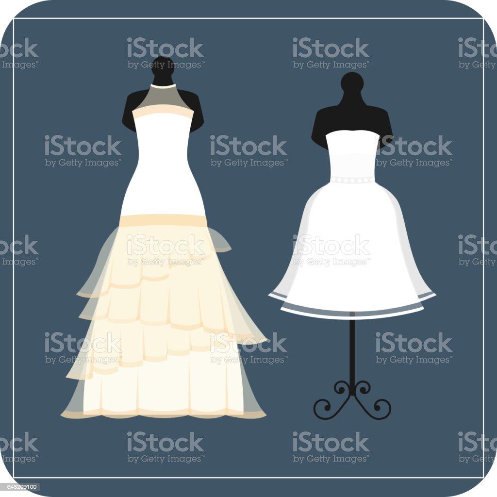 720bb3ac70da6 結婚式の花嫁ドレス エレガンス スタイルの祭典ベクトル図 ロイヤリティフリー結婚式の