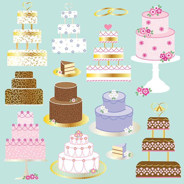 Royalty Free Cake Tier Clip Art, Vector Images ...
