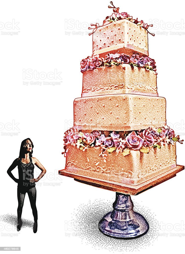 Wedding Cake Decisions royalty-free wedding cake decisions stock vector art & more images of adult