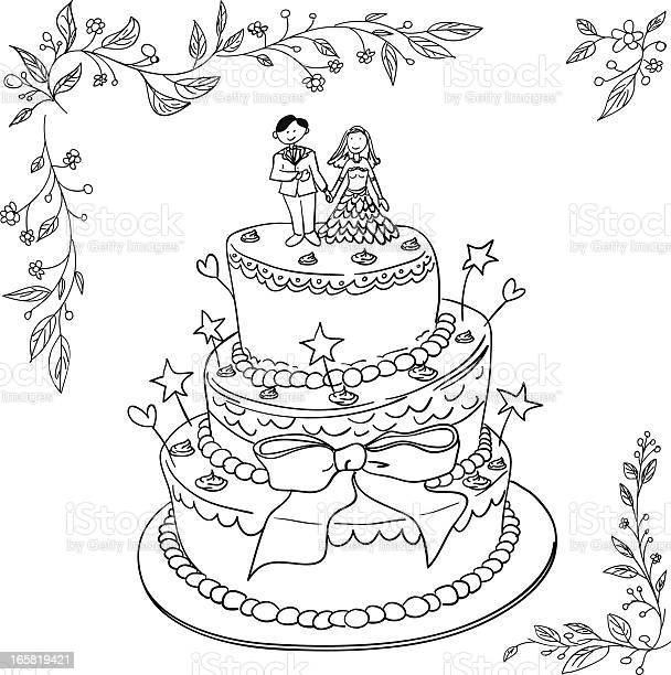 Wedding cake in black and white vector id165819421?b=1&k=6&m=165819421&s=612x612&h=t9ei2 bdd1d6xu1m nsdcnafwggcndlkwgnkm8y9l7e=
