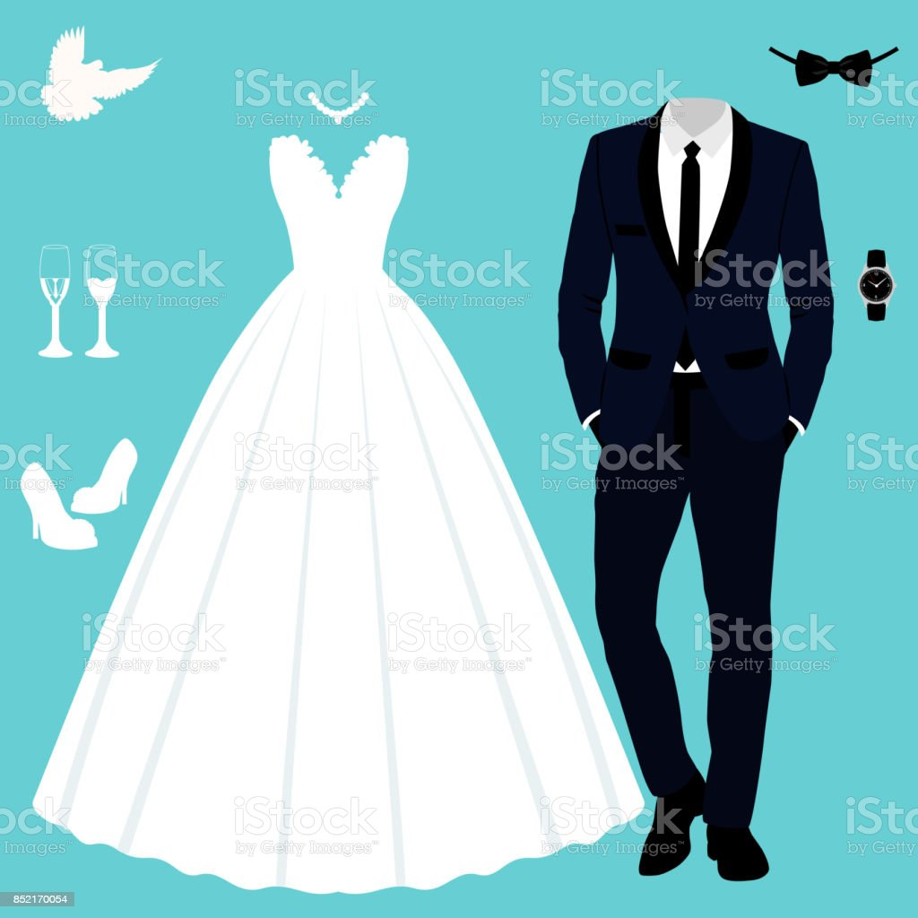 Brudgum klädsel