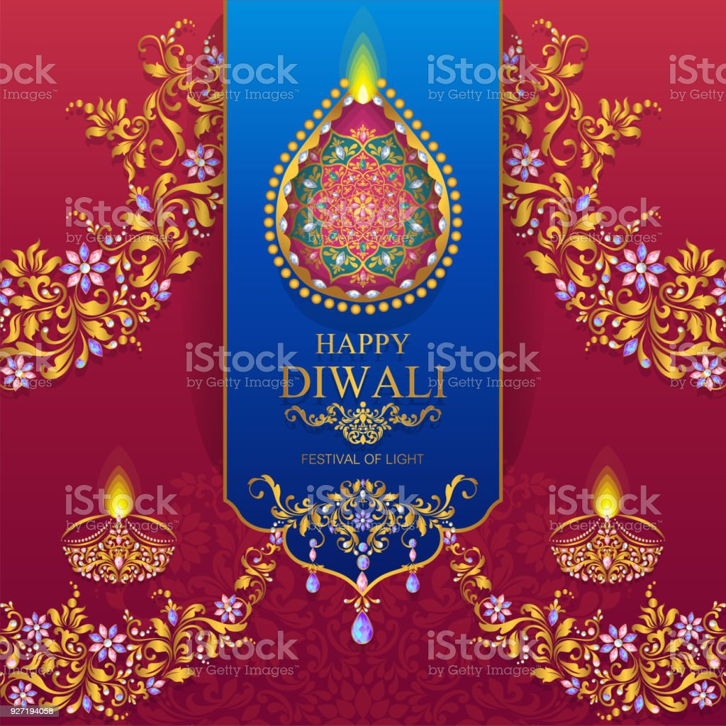 Wedding Cards 2020271 Dewali Stock Vector Art & More Images of ...