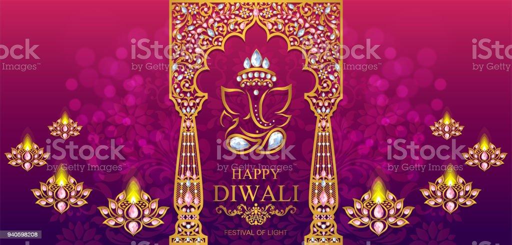Hochzeitskarten 2020435 Dewali Stock Vektor Art Und Mehr Bilder Von