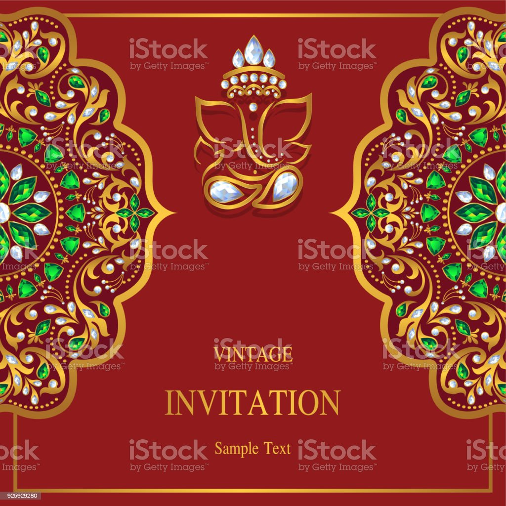 Wedding Cards 20204700 Stock Vector Art & More Images of Anniversary ...