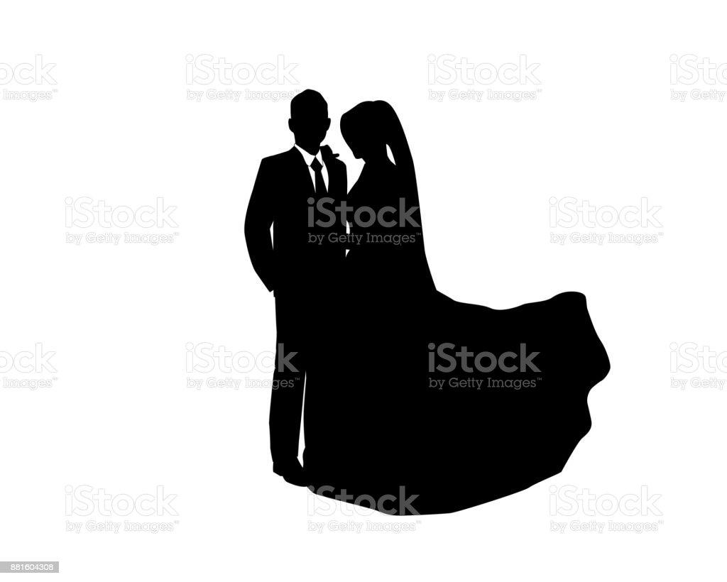 Dating-Paar Silhouette Vektor Wie lange vor der Datierung ist eine Beziehung