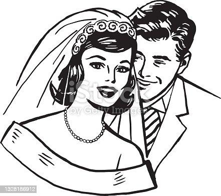istock Wedding Couple 1328186912