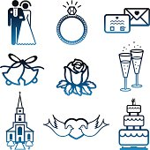 Wedding Day Icons