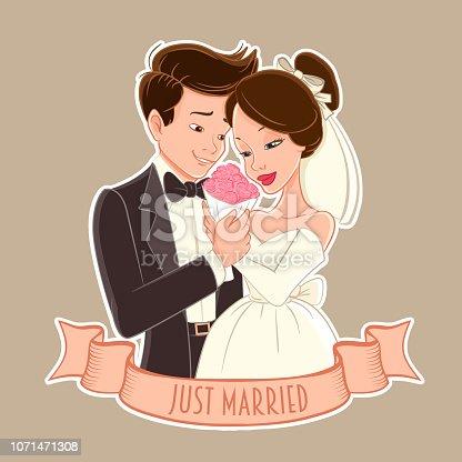 wedding day illustration