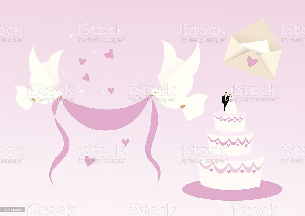 Wedding Design Elements Stock Illustration - Download Image