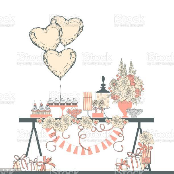Wedding dessert bar vector illustration vector id1198981363?b=1&k=6&m=1198981363&s=612x612&h=7xsev3beo2ewbb ua3hjgexbnebk0xtvsqihhzg sr8=