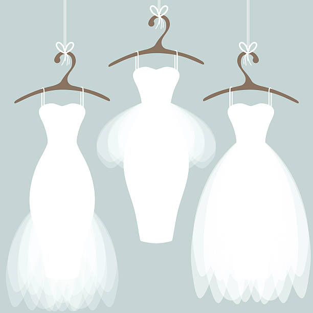 Wedding Gown Clip Art: Royalty Free Wedding Dress Clip Art, Vector Images