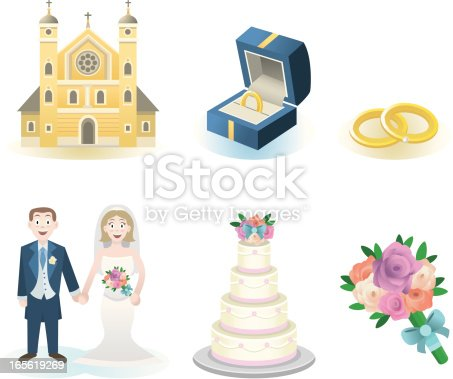 istock Wedding elements 165619269