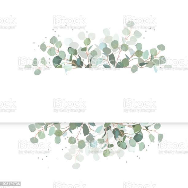 Wedding eucalyptus horizontal vector design banner vector id908174736?b=1&k=6&m=908174736&s=612x612&h=ssc34p4gd bcg04siqwlz1aq4wbn kusj0yahr5rcla=