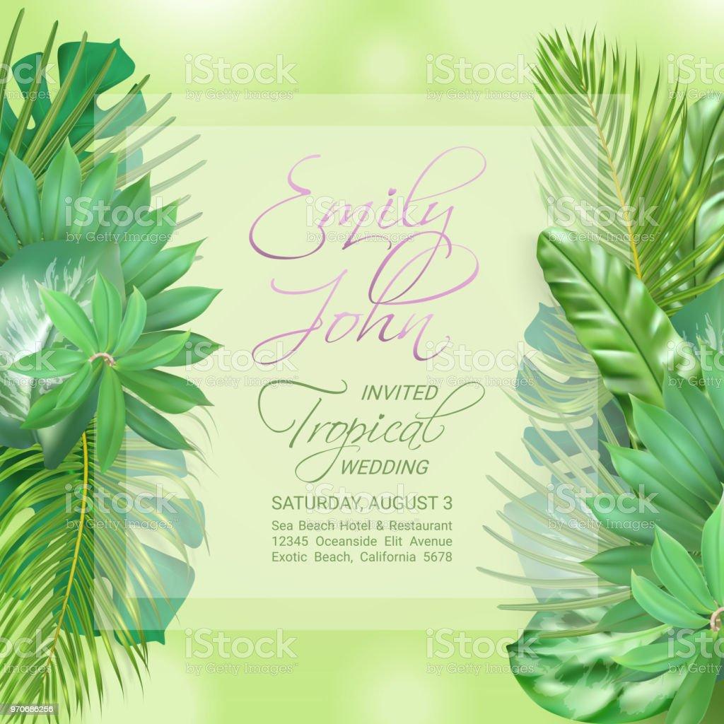 Wedding Event Invitation Card Stock Illustration Download